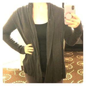 EXPRESS gray Cardigan Sweater